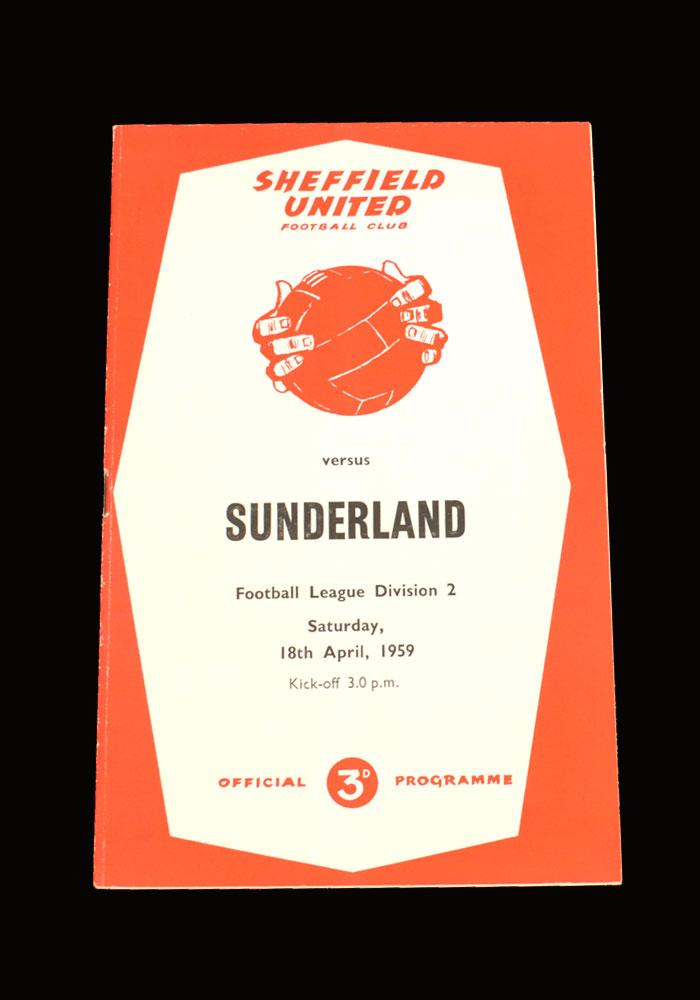 Sunderland v Sheff Utd 18.04.1959