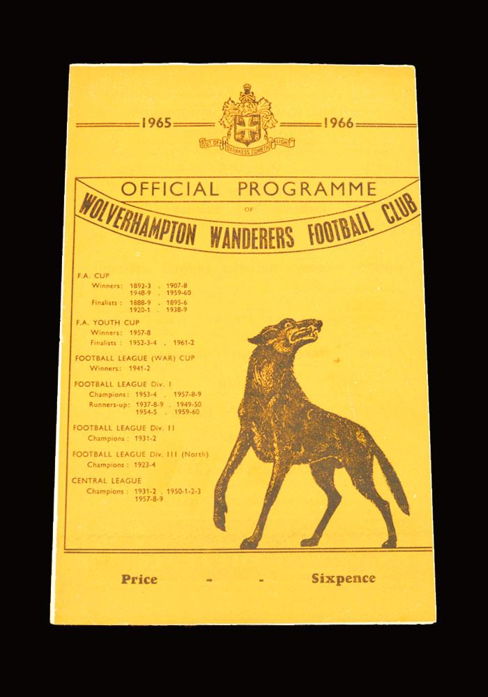 Man City v Wolves 30.08.1965