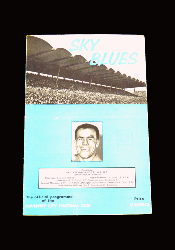 Man City v Coventry 04.09.1965