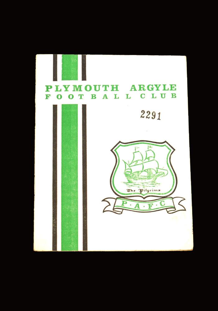 Man City v Plymouth 06.11.1965