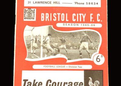 Man City v Bristol City 05.02.1966