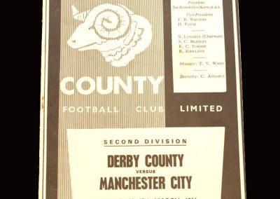Man City v Derby 19.03.1966