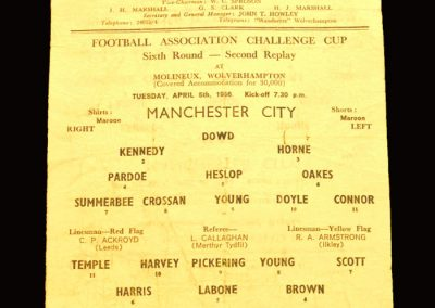 Man City v Everton 05.04.1966 - FA Cup 6th Round 2nd Replay
