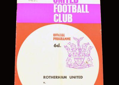 Man City v Rotherham 04.05.1966