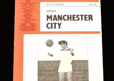 Man City v Charlton 13.05.1966