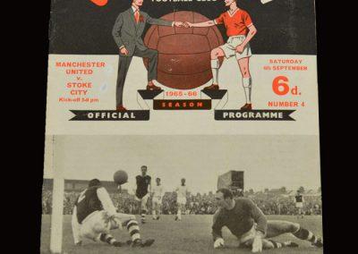 Man Utd v Stoke 04.09.1965