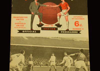 Man Utd v Sheff Utd 20.11.1965