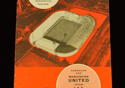 Man Utd v ASK Vorwarts Berlin 01.12.1965 - European Cup 2nd Round 2nd Leg