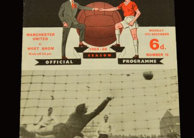 Man Utd v West Brom 27.12.1965