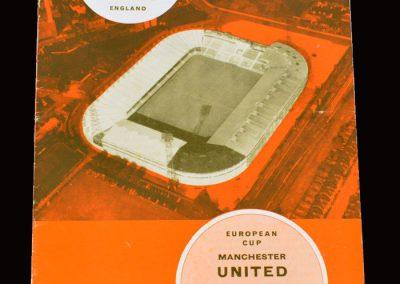 Man Utd v Benfica 02.02.1966 - European Cup Quarter Final 1st Leg