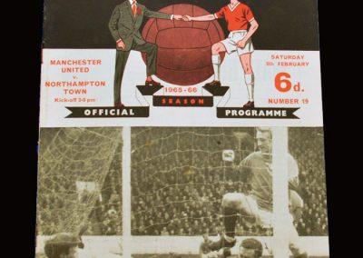 Man Utd v Northampton 05.02.1966