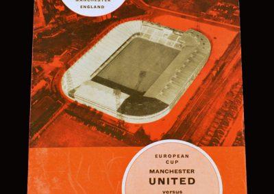 Man Utd v Partizan Belgrade 20.04.1966 - European Cup Semi Final 2nd Leg