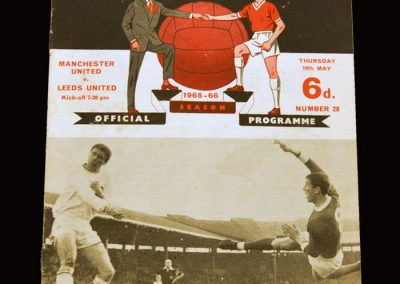 Man Utd v Leeds 19.05.1966