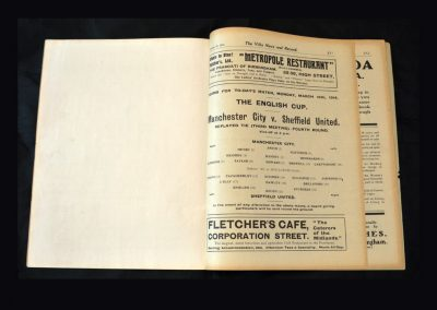 Man City v Sheff Utd 16.03.1914 (FA Cup 4th Round 2nd Replay)