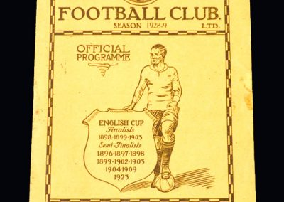 Derby v Man City 13.10.1928
