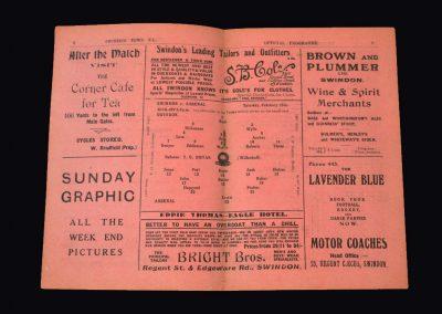 Swindon v Arsenal 16.02.1929 - FA Cup 5th Round