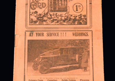 Middlesbrough v Arsenal 15.02.1930 - FA Cup 5th Round
