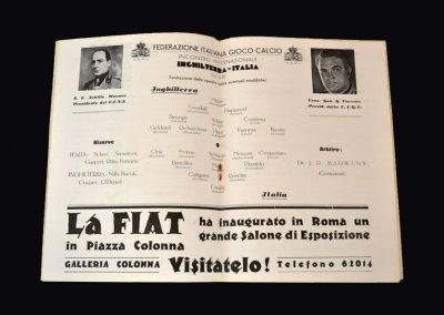 England v Italy 13.05.1933
