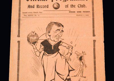 Arsenal v Spurs 06.03.1935
