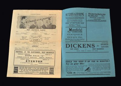 West Brom v Arsenal 06.03.1937 - FA Cup 6th Round