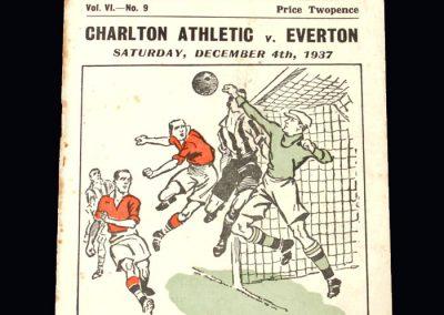 Everton v Charlton 04.12.1937