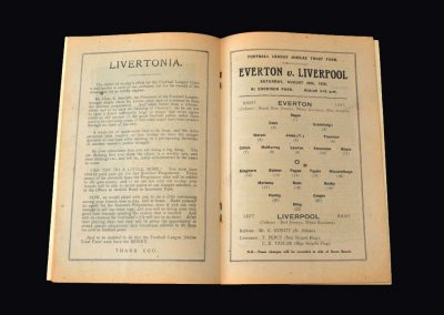 Everton v Liverpool 20.08.1938 (Jubilee Cup)
