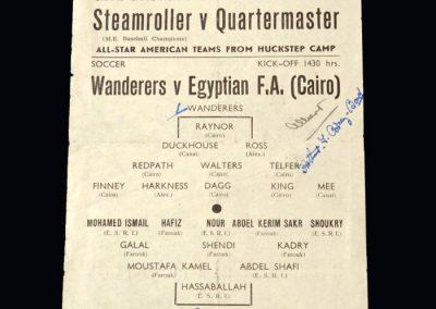 Wanderers v Egyptian FA 11 02.01.1944 (Finney, Mee)