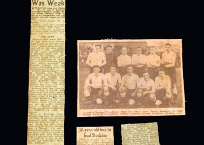 Newspaper Cuttings from 1952/53