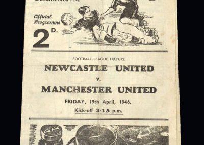 Man Utd v Newcastle 19.04.1946