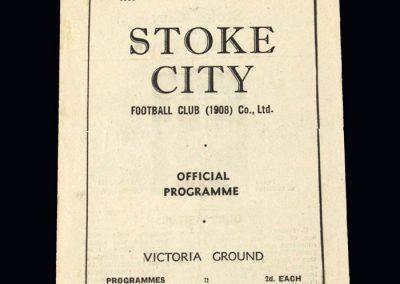Stoke v Grimsby 07.04.1947