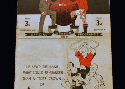 Man Utd v Chelsea 18.09.1946