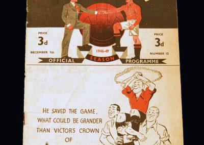 Man Utd v Brentford 07.12.1946