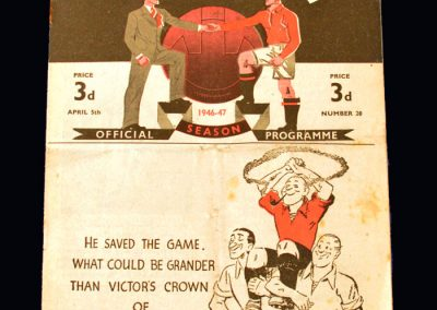 Man Utd v Wolves 05.04.1947