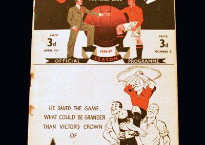 Man Utd v Leeds 07.04.1947