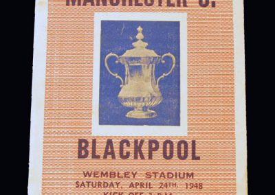 Man Utd v Blackpool 24.04.1948 - FA Cup Final (pirate)