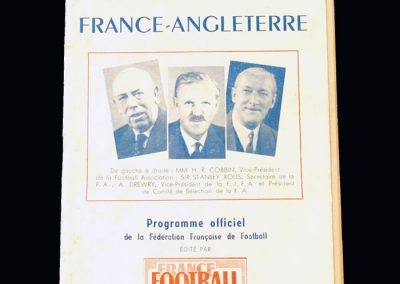 England v France 22.05.1949