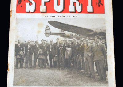England on their way to Rio - Sport Magazine 23.06.1950