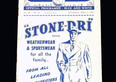 Man City v West Brom 05.04.1952
