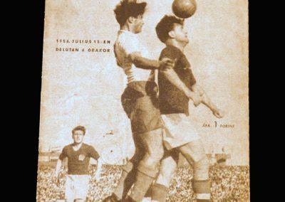 Hungary v Poland 15.07.1956 (4-1)