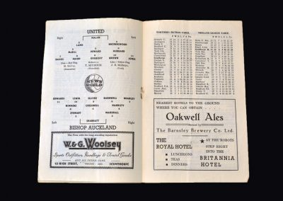 Scunthorpe v Bishop Auckland 15.12.1955 - FA Cup 2nd Round Replay