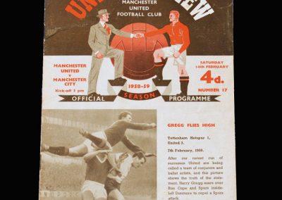 Man Utd v Man City 14.02.1959