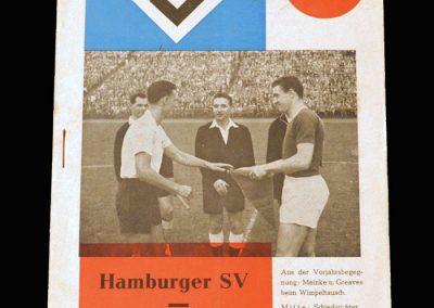 Man Utd v Hamburg 12.08.1959