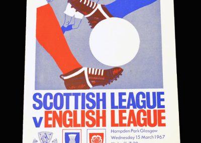 Scottish League v English League 15.03.1967
