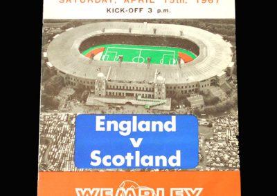 England v Scotland 15.04.1967