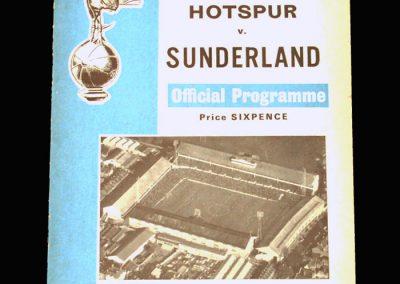 Spurs v Sunderland 16.11.1968 (4 goals in a 5-1 win. Leading Division 1 goalscorer for the 6th & final time)