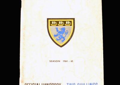Middlesbrough Official Handbook 1964/65