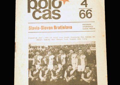 Slavia v Slovan 16.04.1966