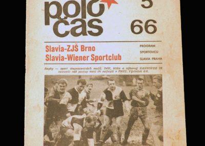 Slavia v Weiner 30.04.1966