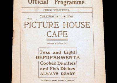 Hartlepools Utd v Stalybridge Celtic 02.01.1922