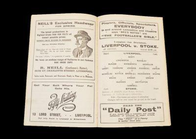 Liverpool v Stoke 05.05.1923 (Liverpool Champions)